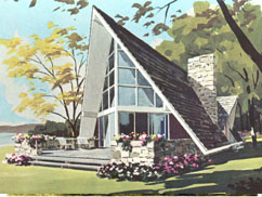 Year Round Vacation Home Plans: 50 Exciting Designs to Build - 1969