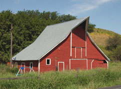 Dutch style barn, Whitman Co. - c.1930