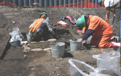 Test Pit Archaeological Investigations, Port Angeles