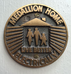 Typical Medallion Home Plaque
