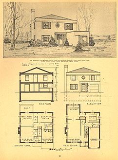 """44 Up to Date House Designs"", Authentic Publications, 1950"